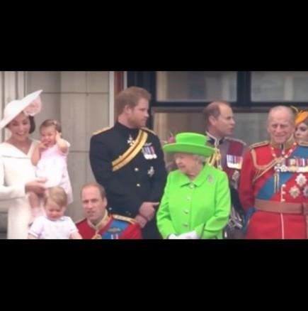 Кралицата мъмри принц Уилям