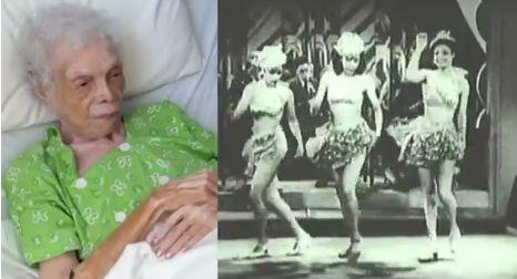 Тази жена някога е била знаменита танцьорка, а сега е на 102 години